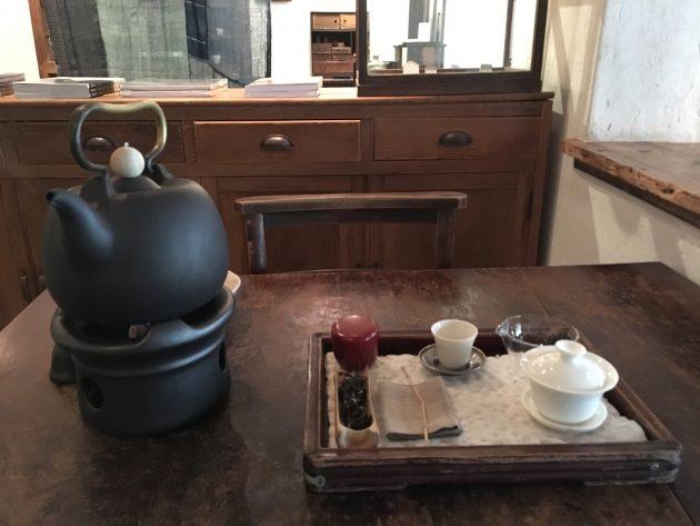 茶藝館の台湾茶