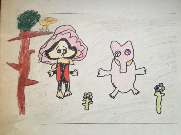 小学1年生の絵